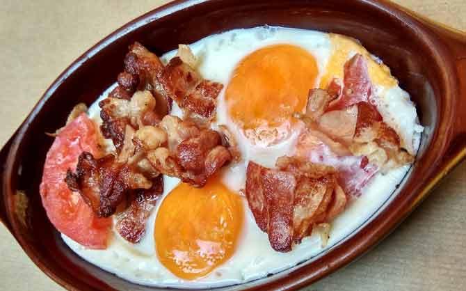 κλασικό πρωινό