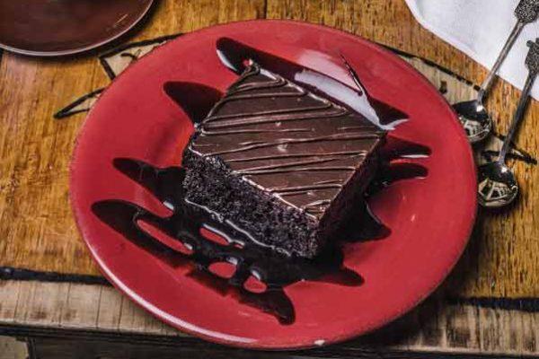 σοκολατόπιτα για απογευματινό